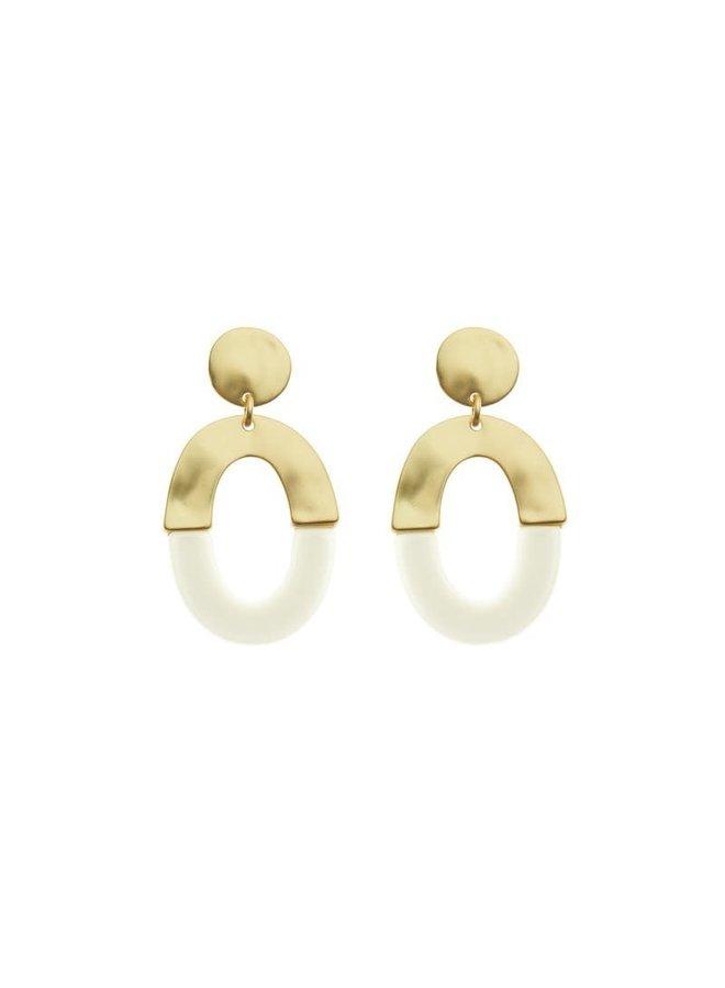 Biba oorbellen 81957-07 Gold Plated