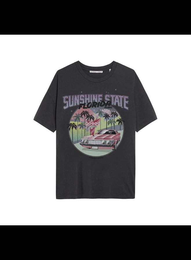 Catwalk Junkie T-shirt Sunshine State Dark Grey