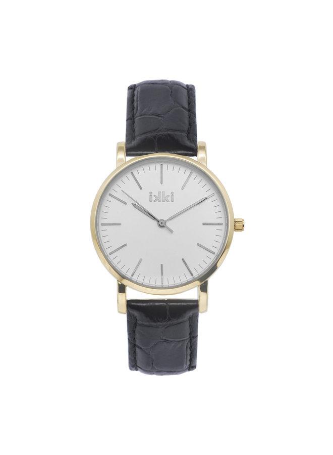 IKKI horloge Jamy JM11 Black Gold