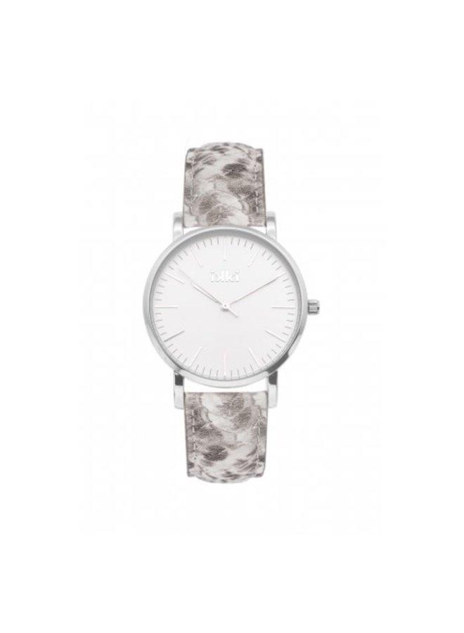 IKKI horloge Jamy JM17 Python Silver