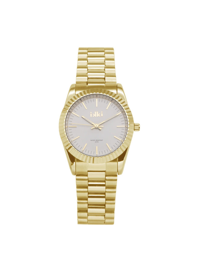 IKKI horloge Bronx BX07 Gold