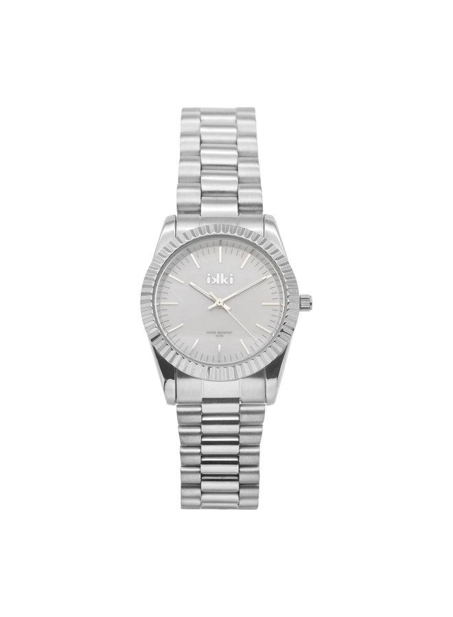 IKKI horloge Bronx BX09 Silver Pearl
