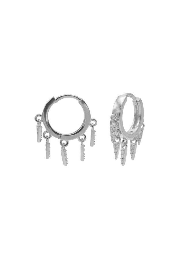 Karma oorbellen M3183S Silver