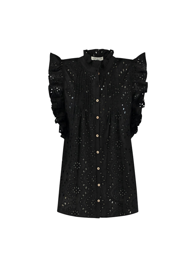 Circle of Trust blouse Katie Black