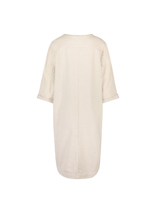 NUKUS jurk Kate Sand