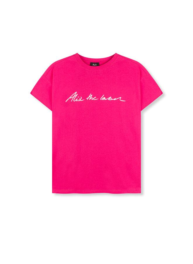ALIX t-shirt Alix the Label Shocking Pink