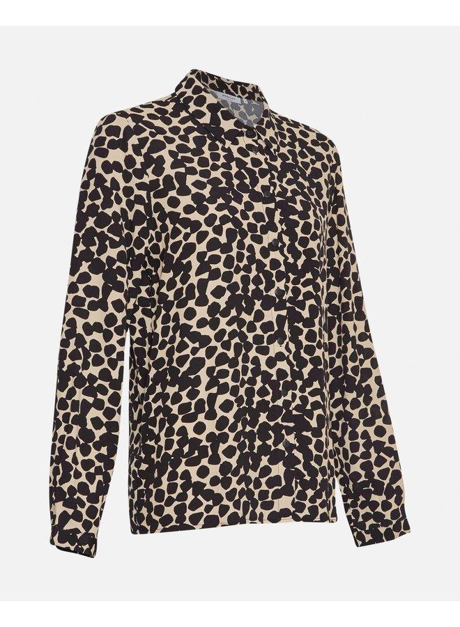 MSCH Copenhagen blouse Bahira Jalina Semolina Dots