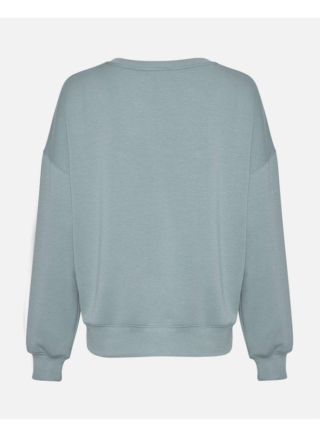 MSCH Copenhagen sweatshirt Ima Aqua Gray
