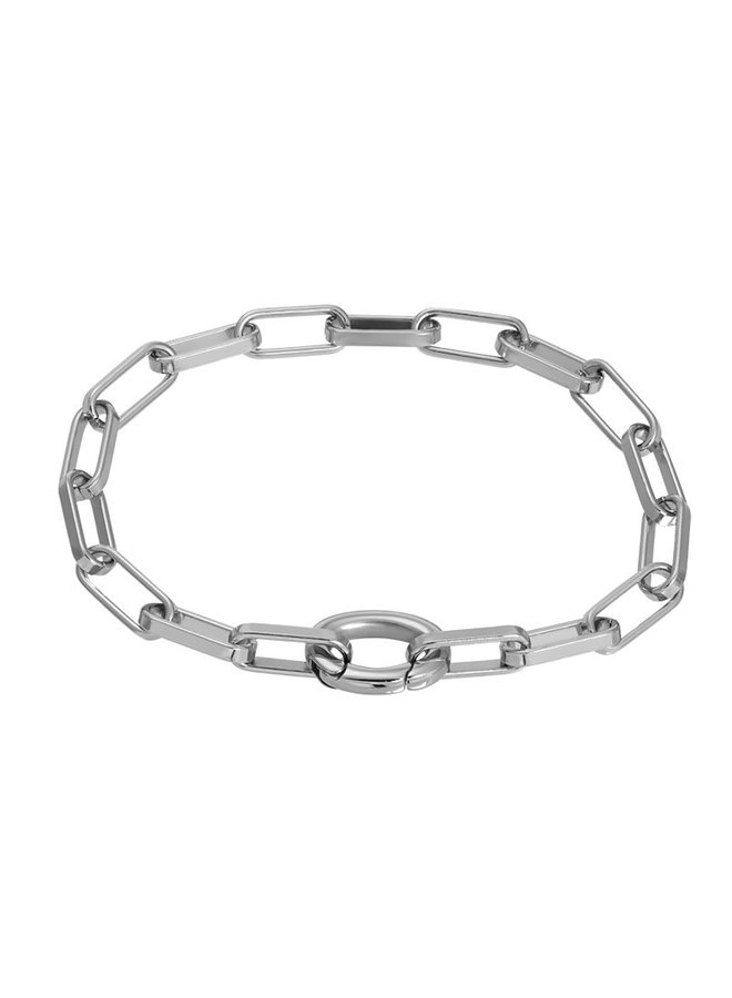 iXXXi armband Square Chain Stainless Steel