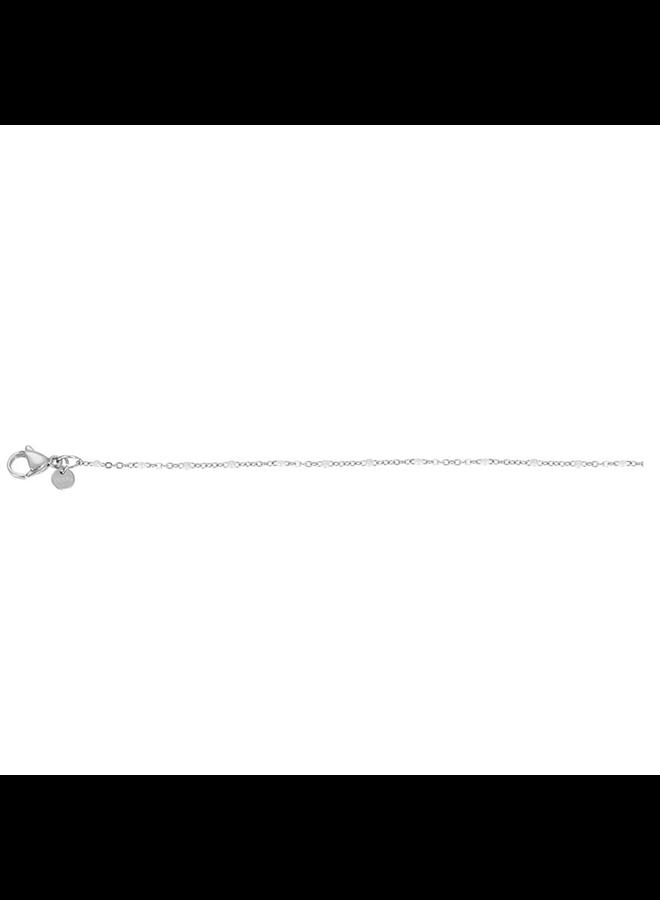 iXXXi armband Slim Ball White Stainless Steel
