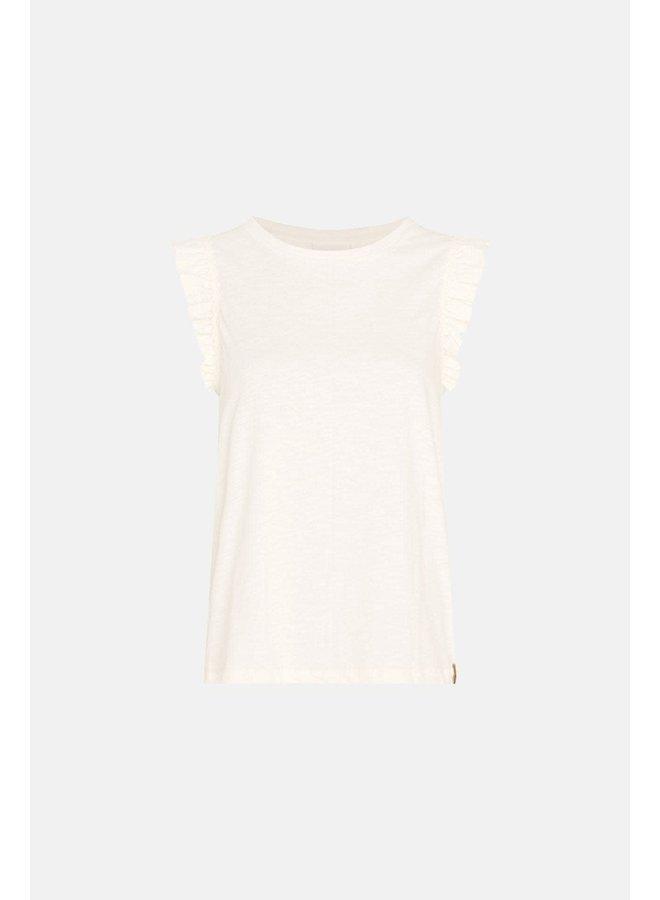 Fabienne Chapot T-shirt Phil Frill Cream White