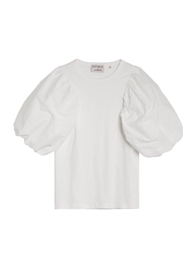 Catwalk Junkie T-shirt Aiden Off White