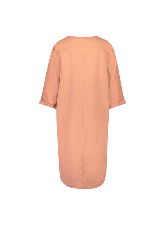 NUKUS jurk Kate Frizzy Melon