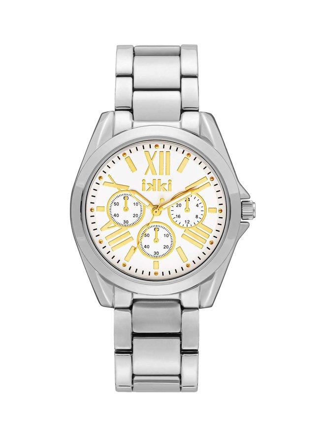 iKKi horloge Nova NV07 Silver/Gold