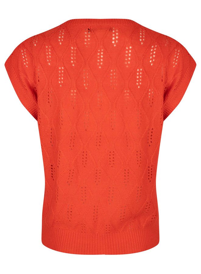 Ydence top Lynn Coral Red