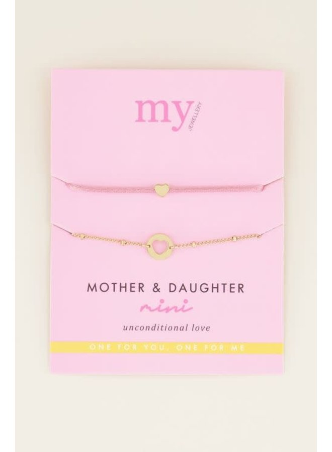 My Jewellery Mother Daughter armband Gold