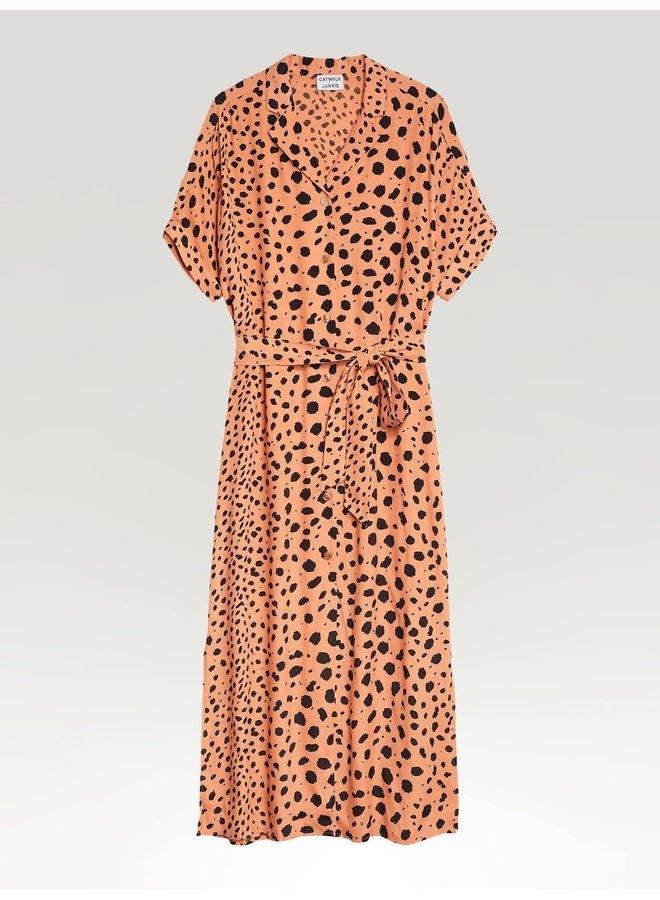 Catwalk Junkie jurk Sunny Spots Pheasant