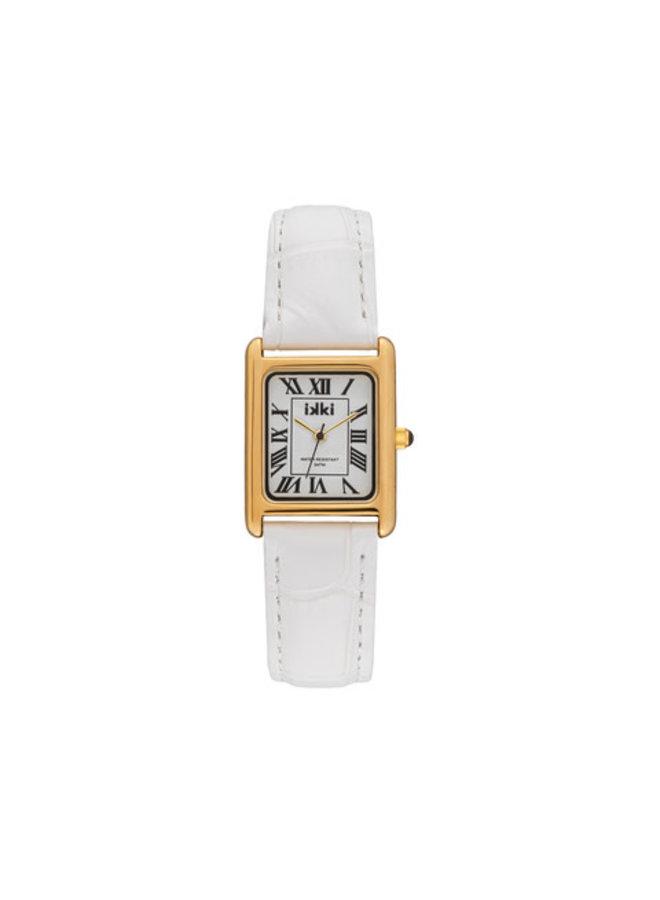 iKKi horloge Chloe CHE06 Wit/Goud
