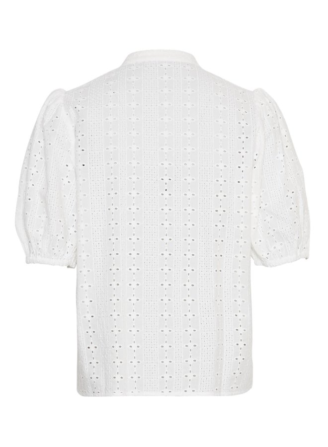 MSCH Copenhagen blouse Barbine White