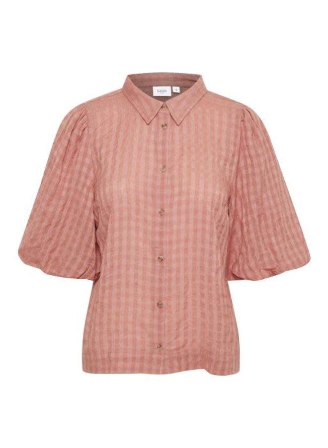Saint Tropez blouse HirliSZ Brick Dust