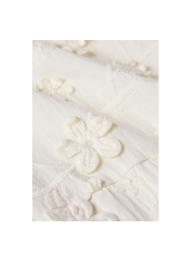 Fabienne Chapot Blouse Leo Cream White