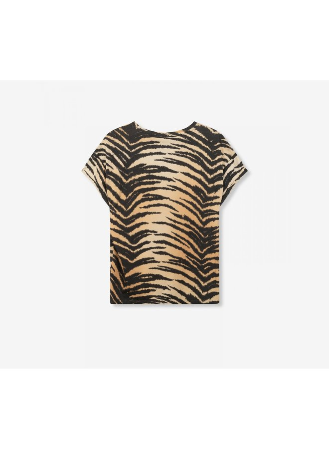 ALIX the Label Boxy T-shirt All Over Tiger