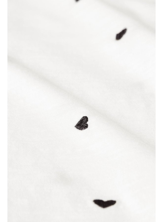 Fabienne Chapot t-shirt Phil Heart Cream White