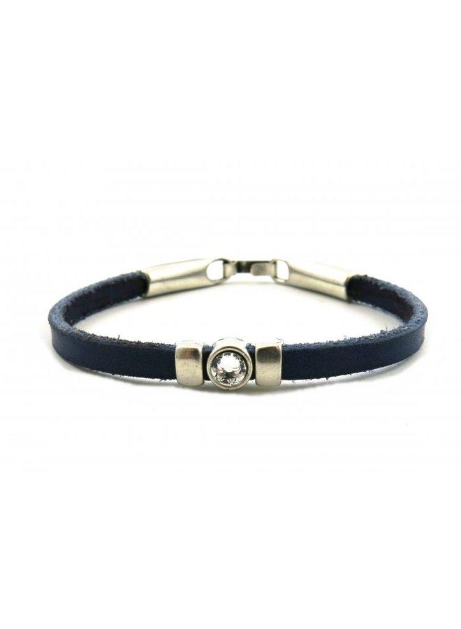 JOSH armband 18263 Blauw