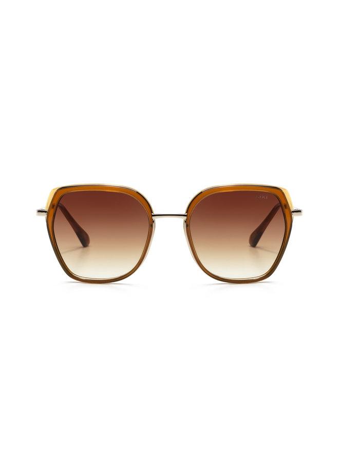iKKi Zonnebril Donna 73-10 Transparant Orange Brown/Gradient Brown