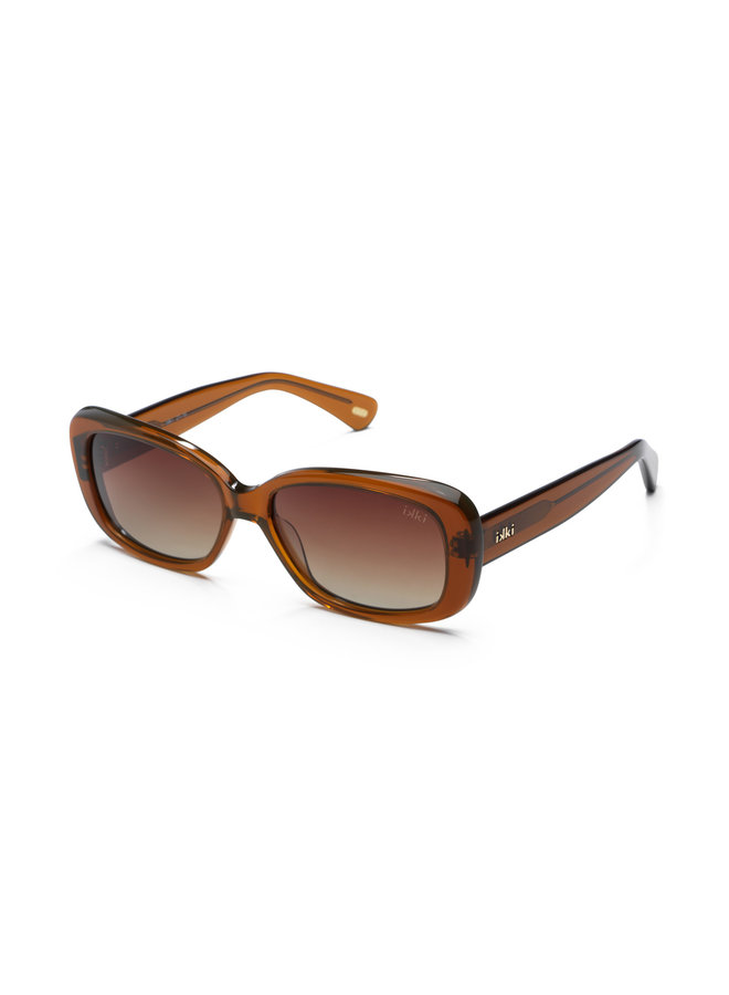 iKKi zonnebril Kiki 21-16 Transparant Orange Brown/Gradient Brown