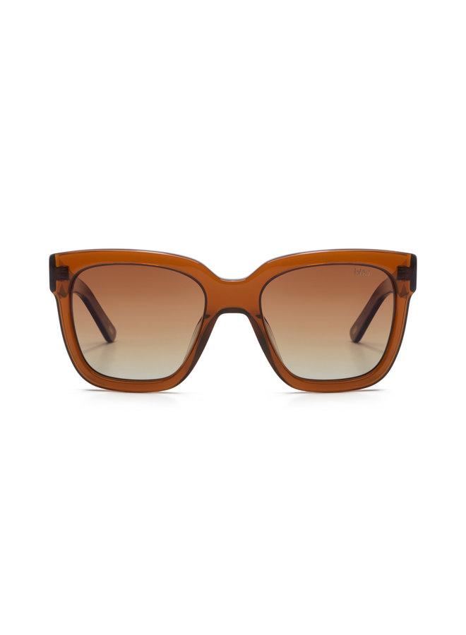 iKKi zonnebril Holly 80-8 Transparant Orange Brown/Gradient Brown