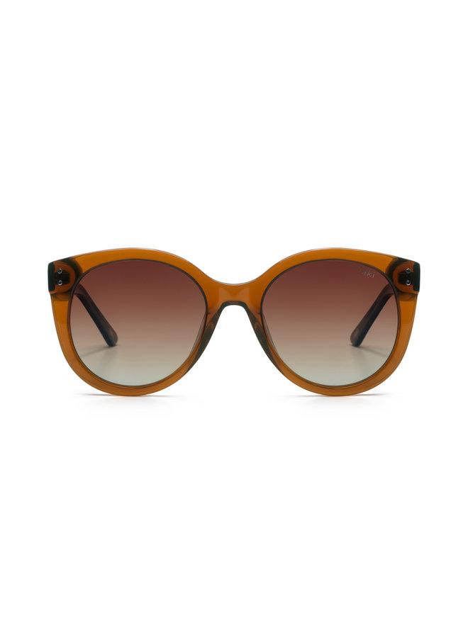 iKKi Zonnebril Quinn 95-4 Transparant Orange Brown/Gradient Brown