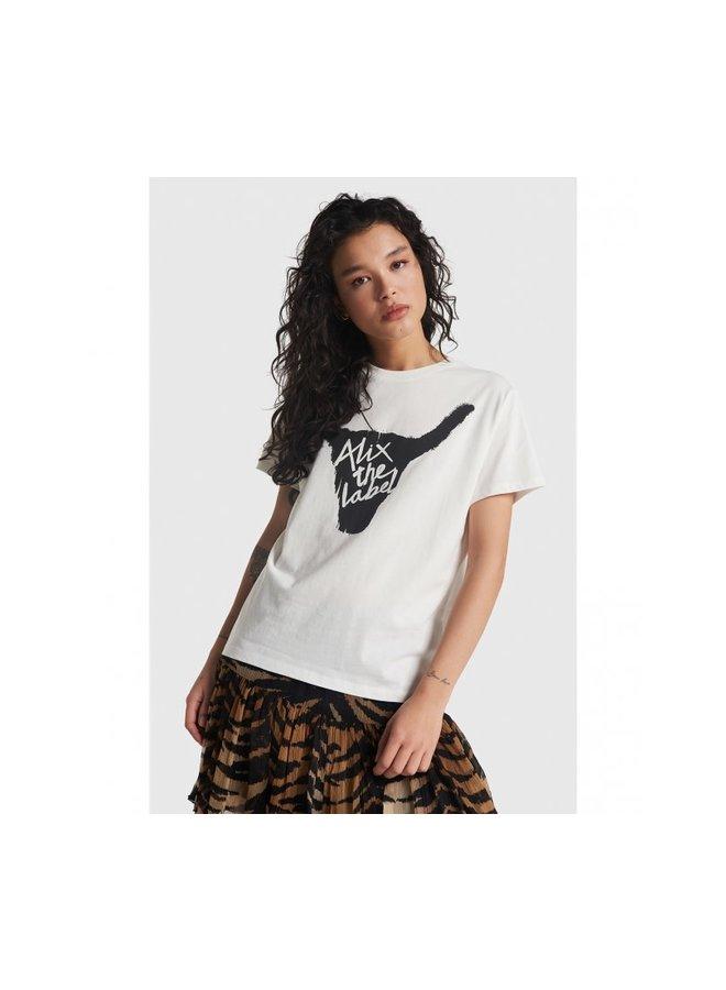 ALIX The Label T-shirt Bull Soft White