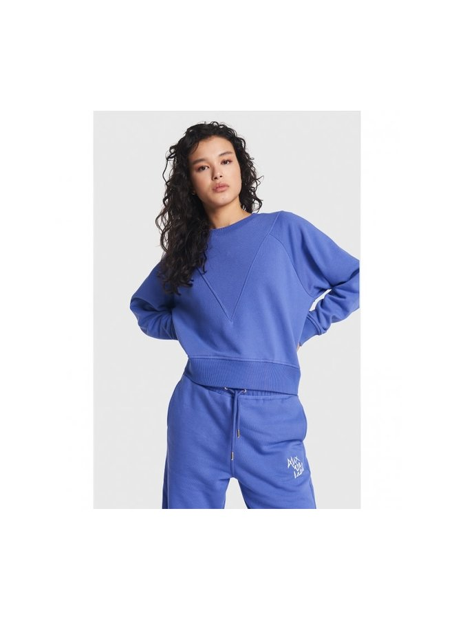 ALIX The Label sweater Blue/Purple