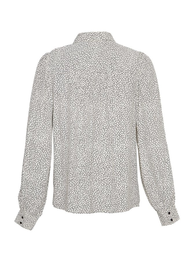 MSCH Copenhagen blouse Sidika Morocco Ecru Dot