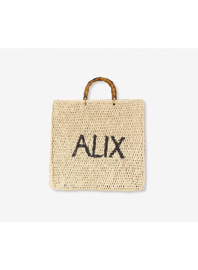 ALIX The Label Crochet Shopper