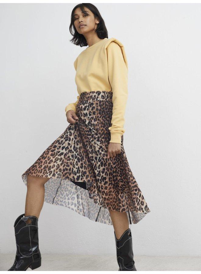 Catwalk Junkie rok Wild Leopard Sheer Brown