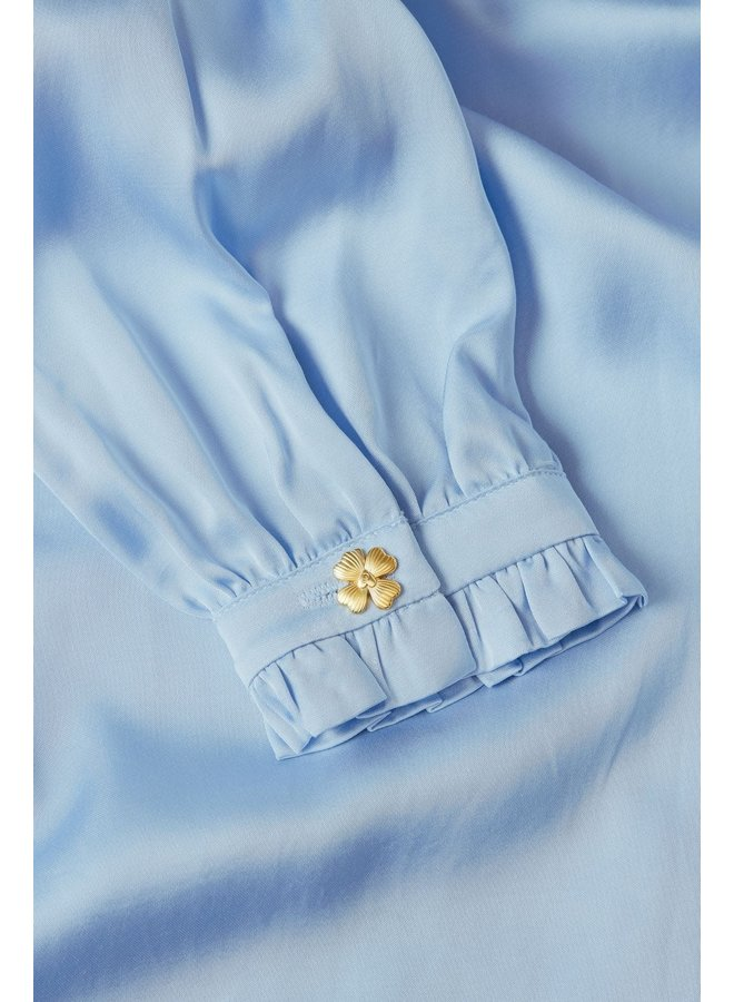 Fabienne Chapot blouse Mira Boho Sky Blue