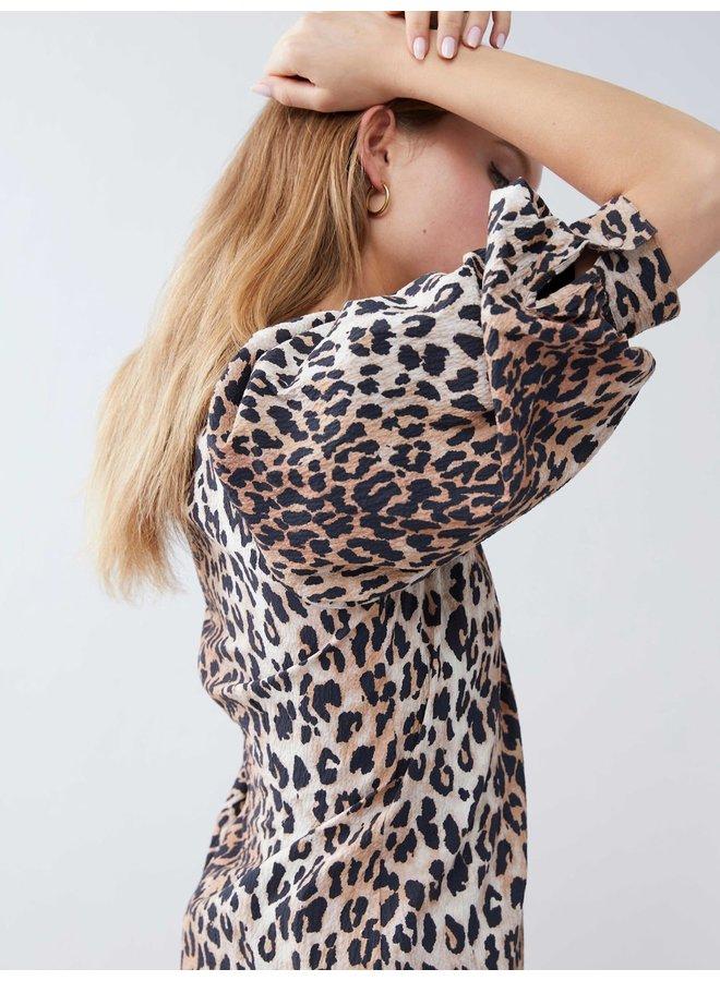 Catwalk Junkie jurk Wild Leopard Brown