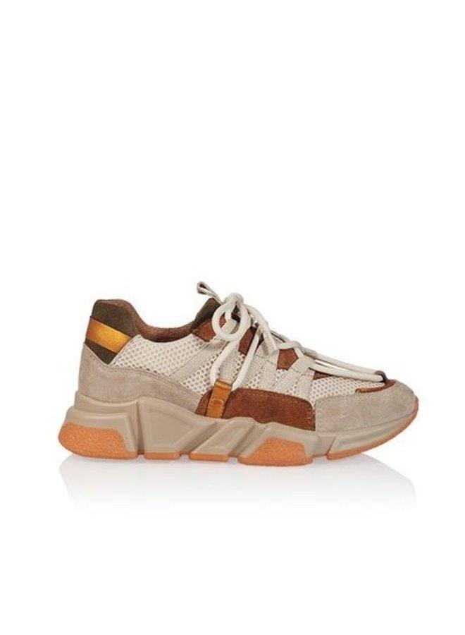 DWRS sneakers Los Angeles Suede Beige/Cognac