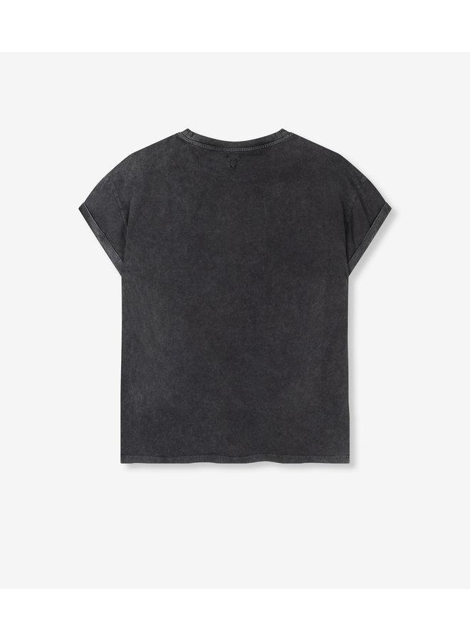 ALIX The Label T-shirt Boxy Photo Black