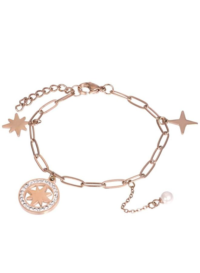 iXXXi armband Sparkle Rosé Gold