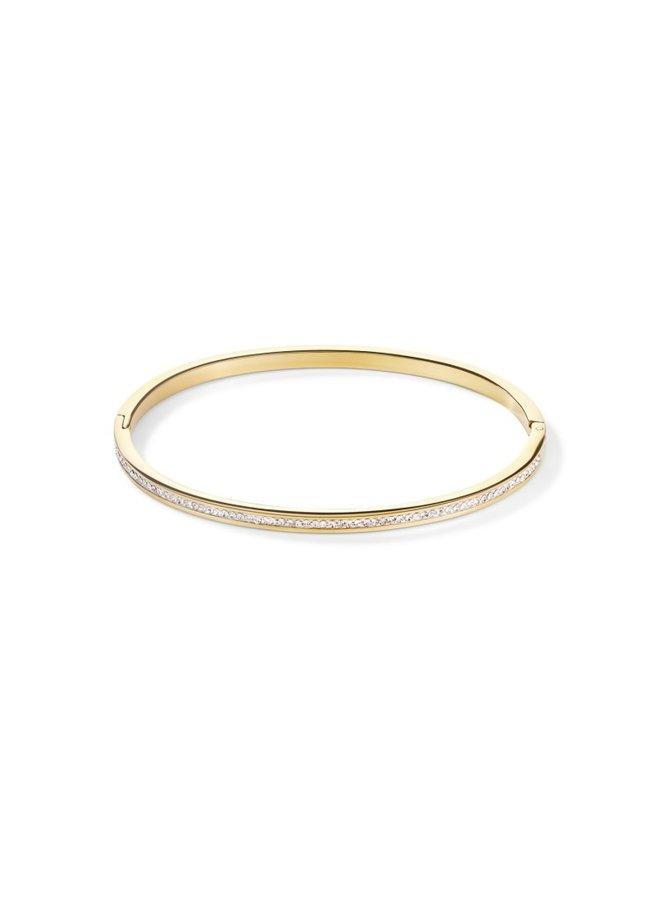 COEUR de LION bangle 0129/33 Crystal Gold