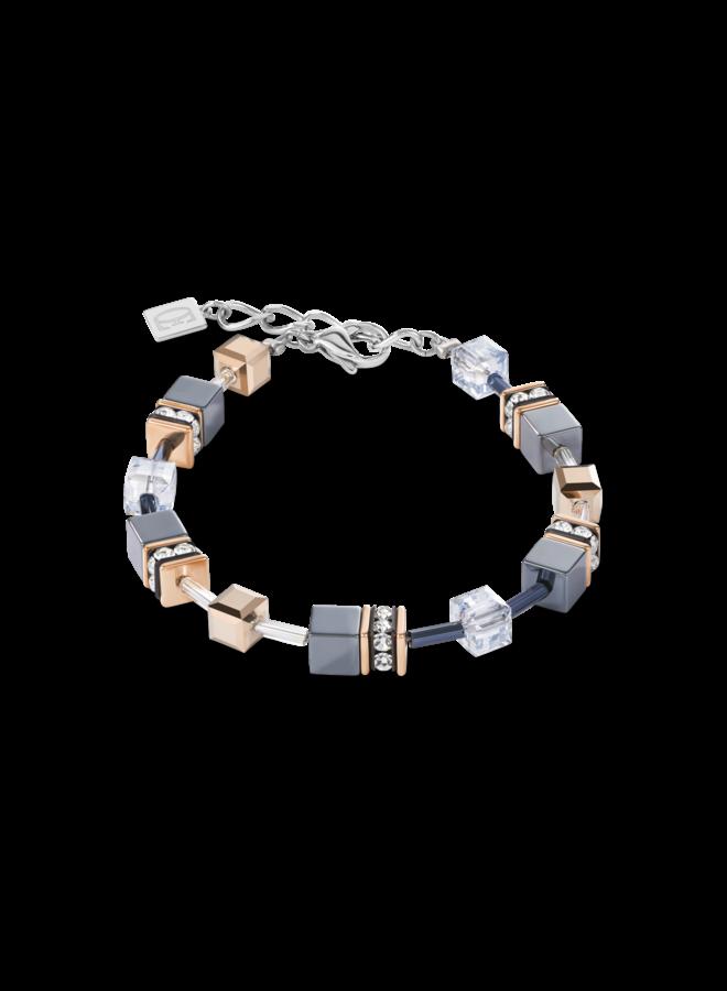 COEUR de LION armband 4015/30 Ice-Blue