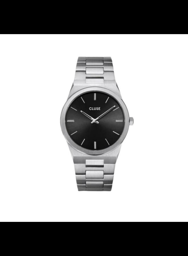 CLUSE horloge Vigoureux Silver/Black