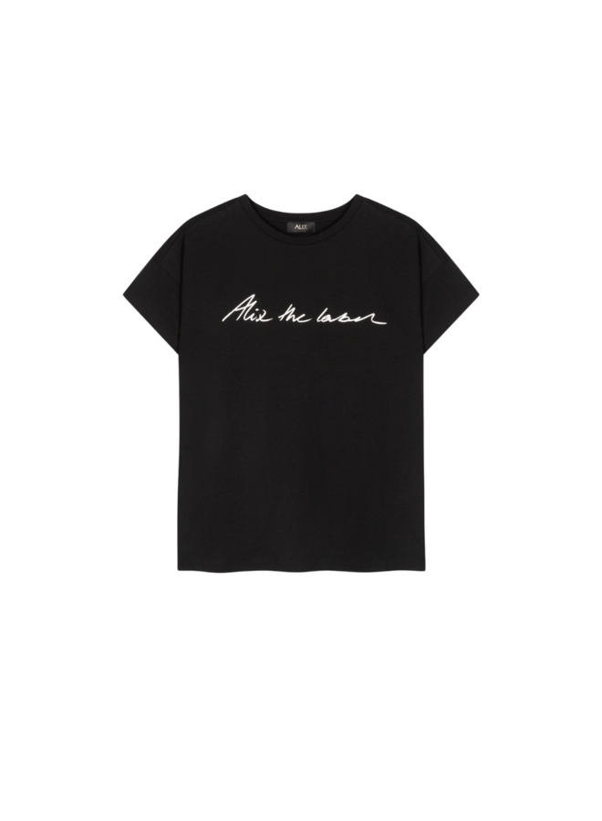 ALIX The Label T-shirt Black