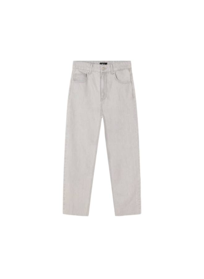 ALIX The Label broek Straight Pale Grey