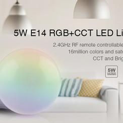 MiLight LED Lamp 5W (E14 RGB+CCT)
