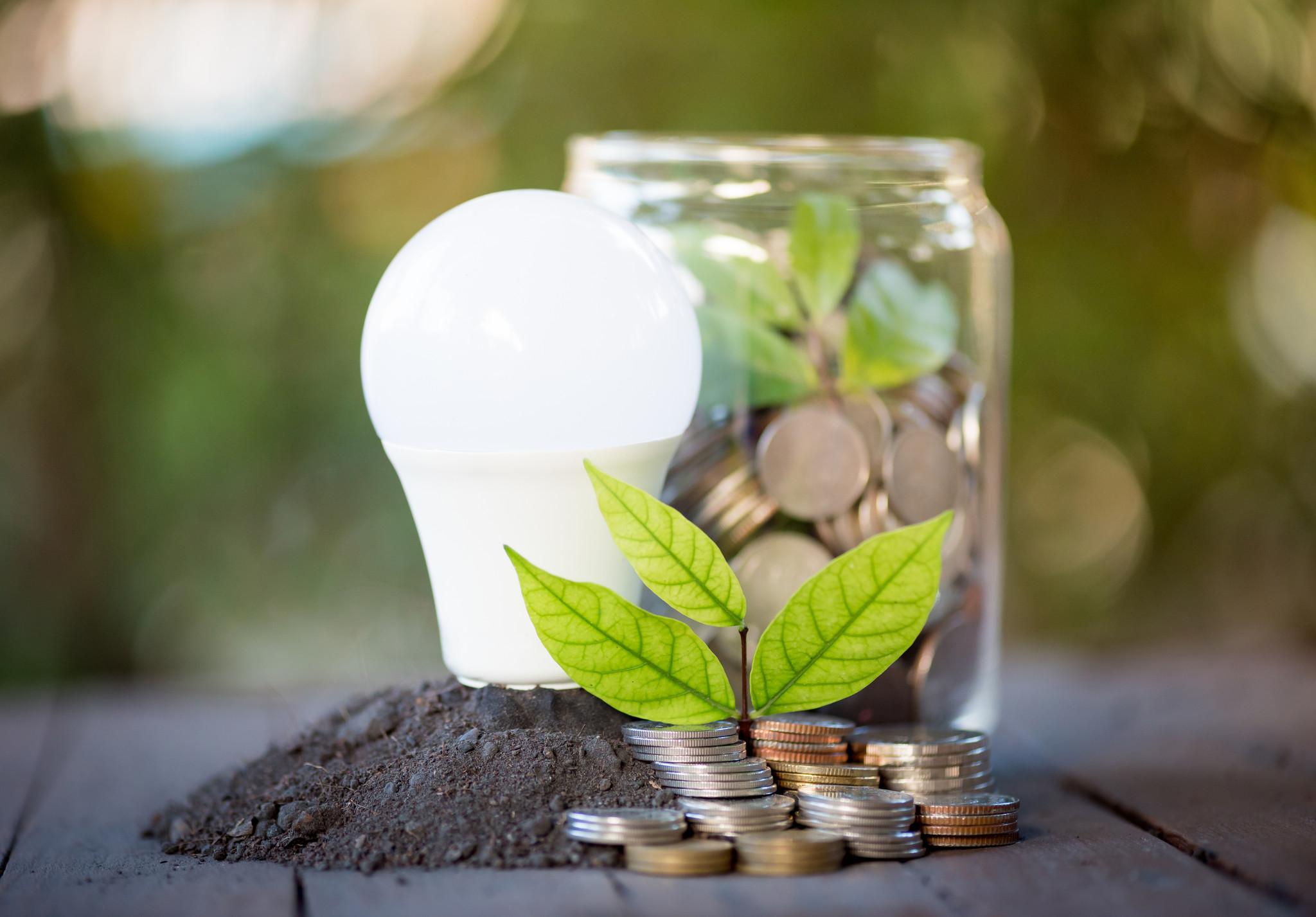 Bespaar energie door LED verlichting