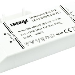 Power Supply | 12V | 216W | Block type indoor